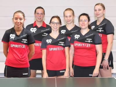 Bundesliga-Damenmannschaft des DJK Sportbundes Stuttgart