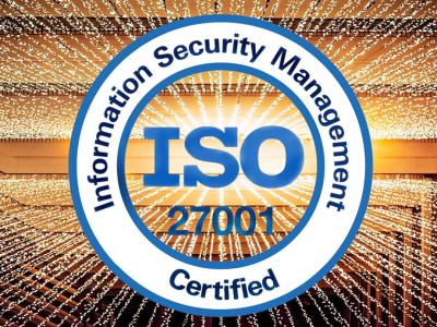 Banner der ISO 27001