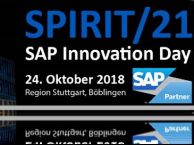 Plakat über den SAP Innovation Day